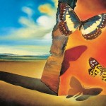 Dali_Landscape_with_Butterflies