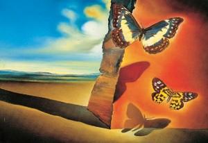 Dali_Landscape_with_Butterflies
