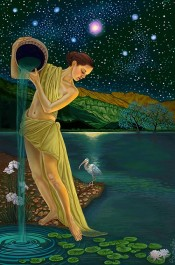 Goddess Art Print Star_etsy