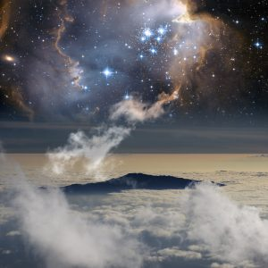 The connection between heaven and Earth.