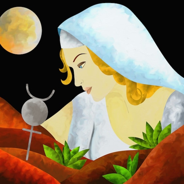 Virgo Full Moon: Knowing Woman
